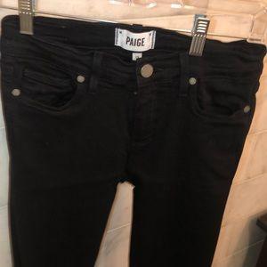 Black, skinny jeans